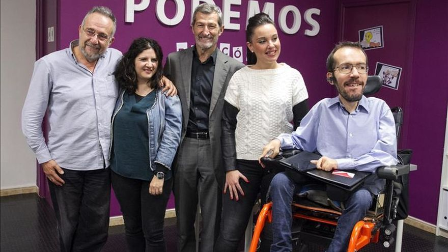"""Julio Rodríguez, """"cada vez más convencido"""" de haber acertado con Podemos"""