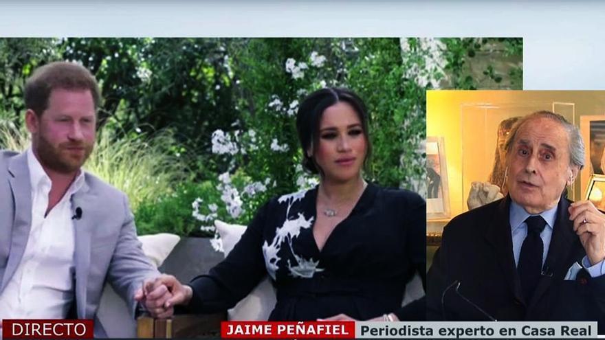 Jaime Peñafiel en 'Cuatro al día'