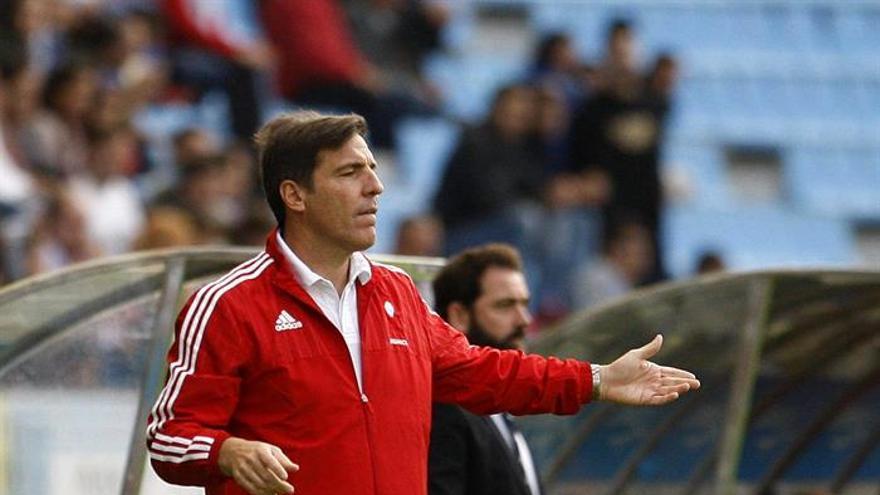El entrenador del Celta Eduardo Berizzo. EFE/ Salvador Sas