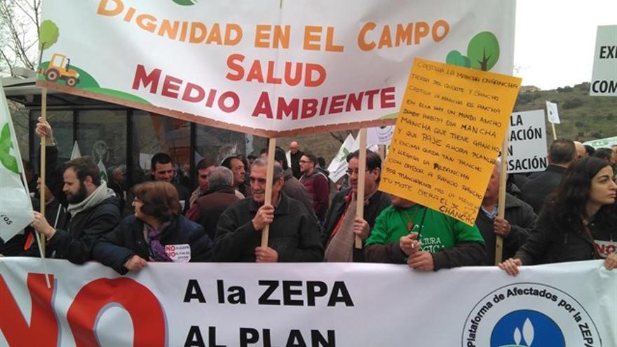 Manifestacion Toledo Agricultura Ecológica