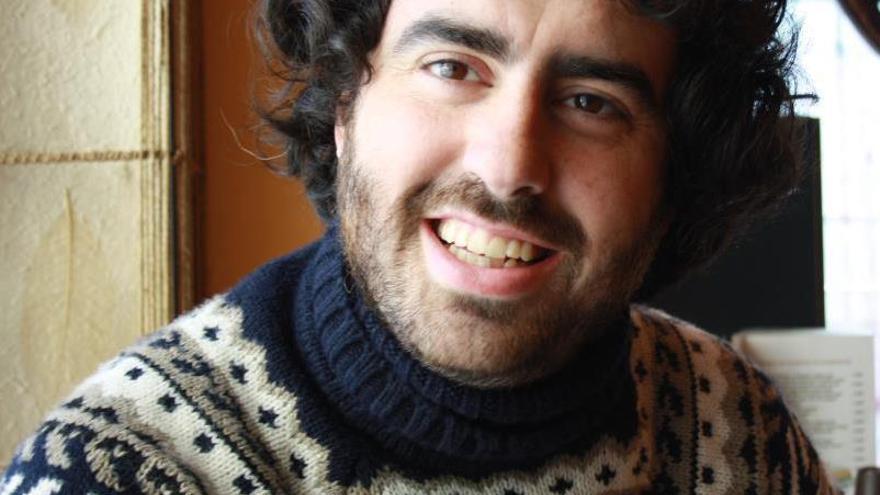 """El autor Iñaki Domínguez, un """"moderno rehabilitado"""""""