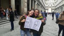 Alumnas del programa Erasmus+ en Italia.