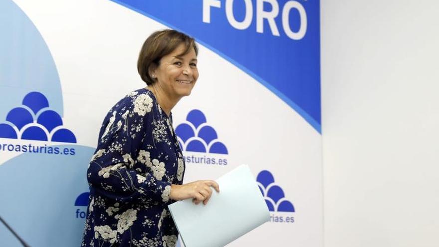 La alcaldesa de Gijón, Carmen Moriyón, nueva presidenta de Foro