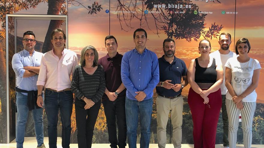 Grupo de Gobierno del Ayuntamiento de Breña Baja.