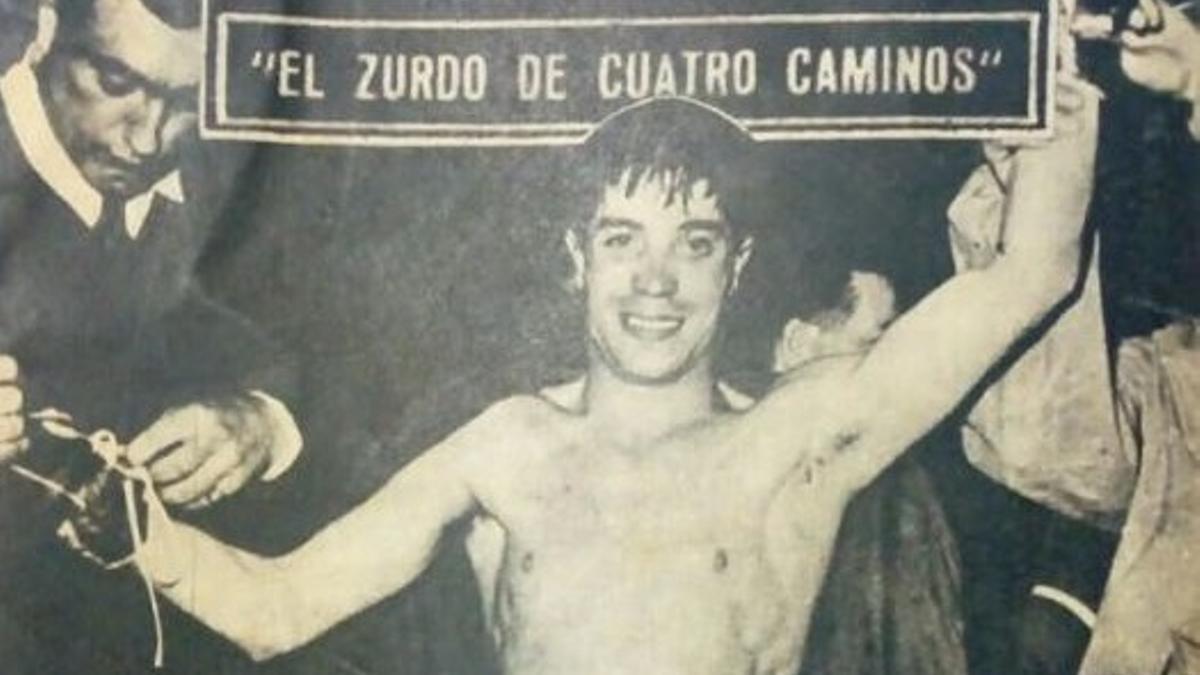 Recorte de la portada de Ídolos del deporte 16 (1958/59)