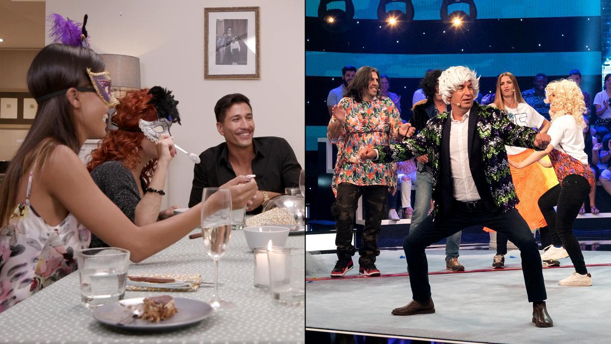 'Ven a cenar conmigo: Gourmet Edition' y 'Me Resbala'