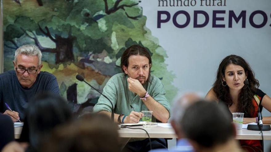 Iglesias niega que el pacto con el PSOE de Castilla-La Mancha sea un experimento