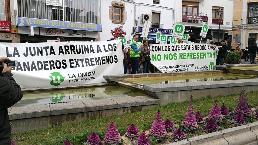 manifestacion agricultura merida La Union