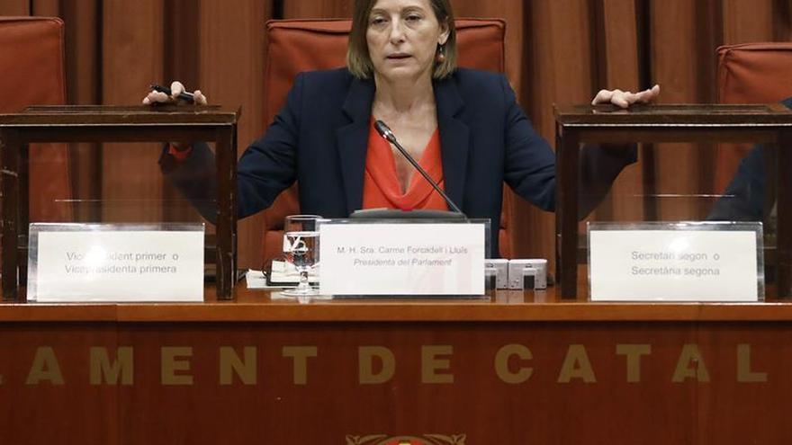 Forcadell acepta ir en la lista electoral de ERC por Barcelona