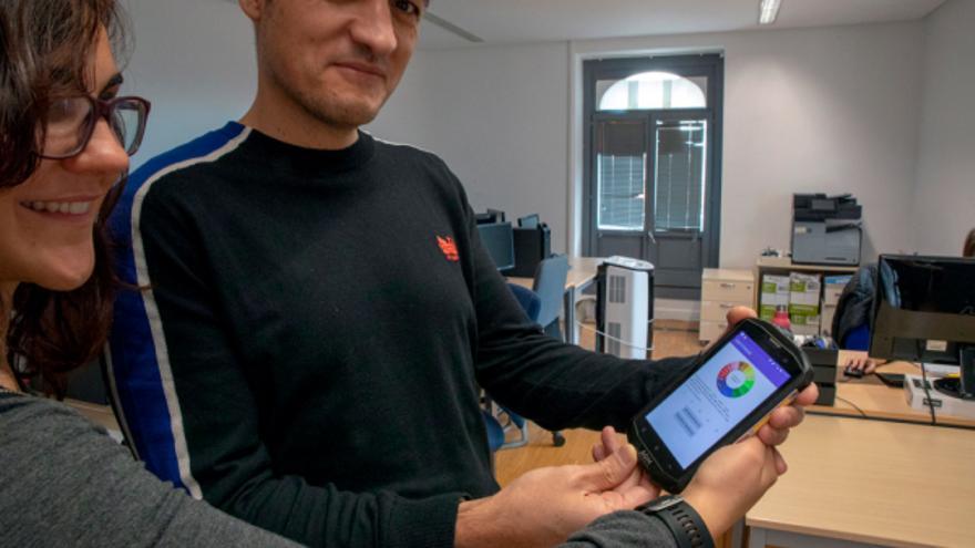 Los creadores muestran la aplicación para Android