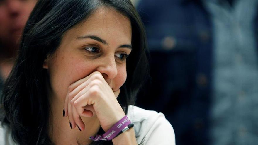 El PSOE y Ahora Madrid evitan la reprobación de Rita Maestre en el Pleno