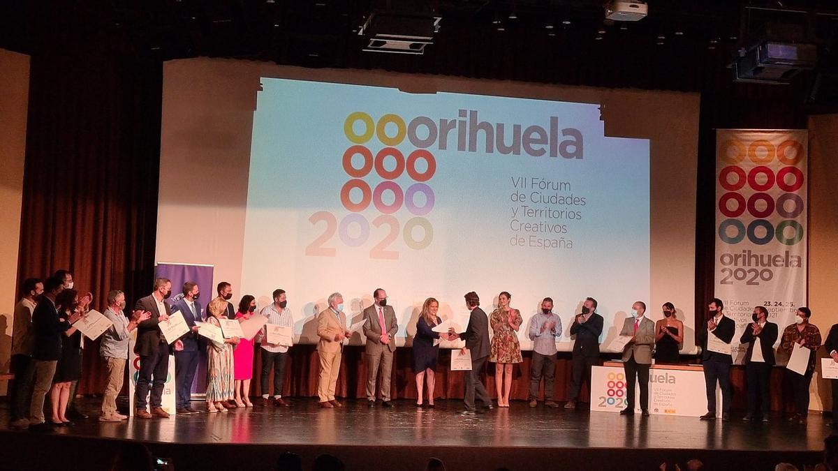 Entrega de premios al proyecto del Ayuntamiento de Telde y la Asociación Violenciacero