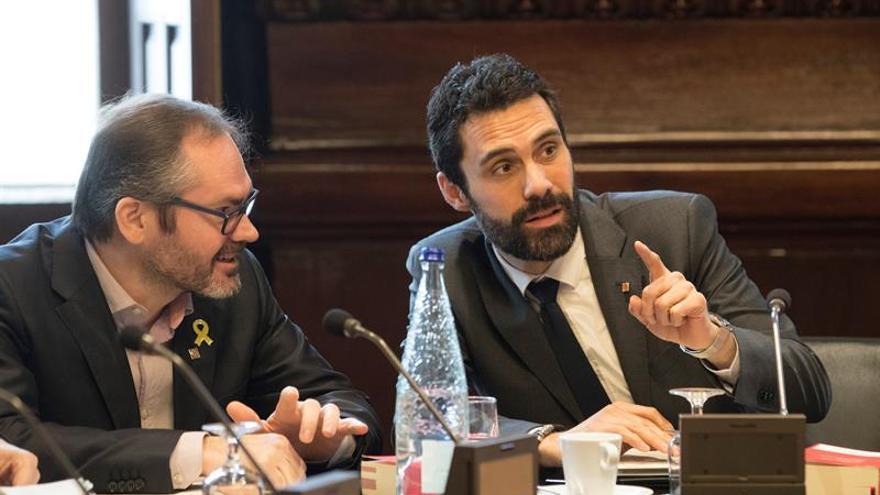 La Mesa rechaza la reconsideración de Cs sobre la resolución de Puigdemont