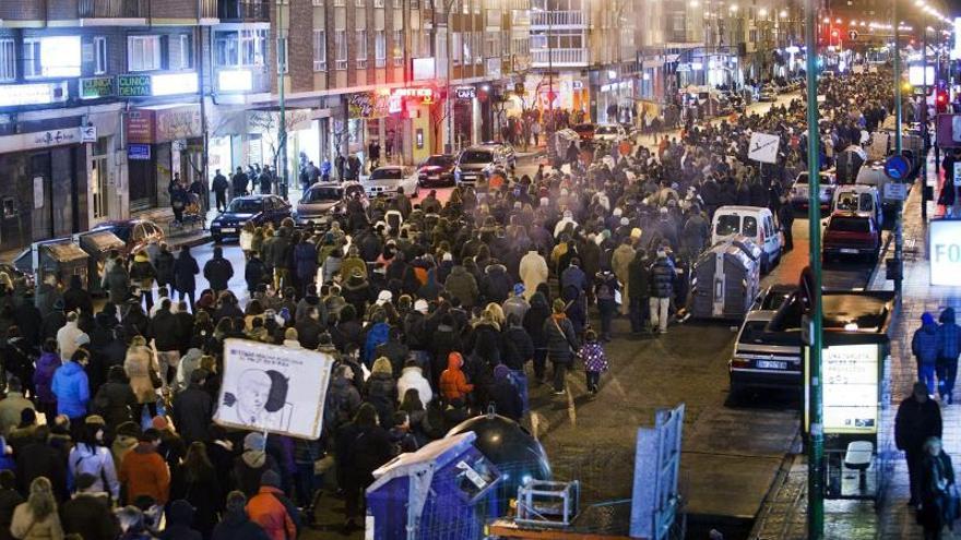 Antifascistas de Madrid y A Coruña iban a participar en las protestas de Gamonal