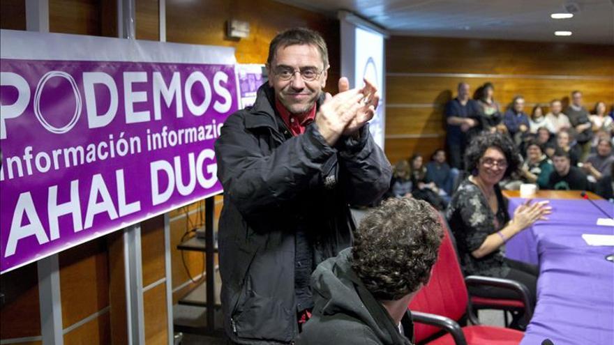 El PSOE pide explicaciones a Podemos por las cuentas de Monedero