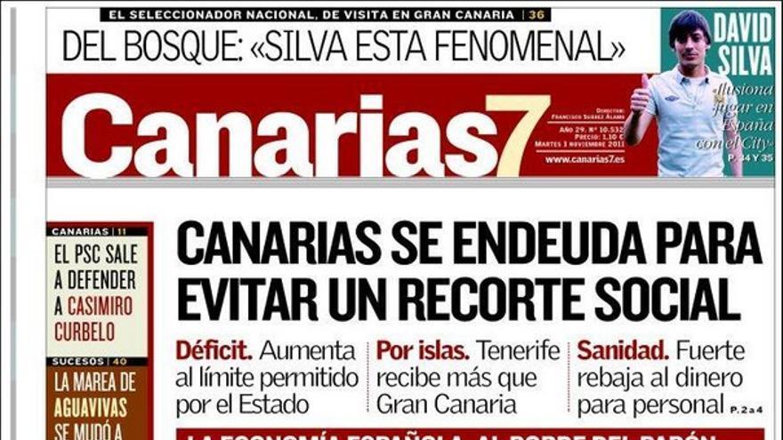De las portadas del día (1/11/2011) #1