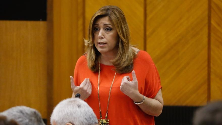 """Susana Díaz critica un nuevo """"atropello"""" a Andalucía por el rechazo en el Congreso a enmiendas del PSOE a los PGE 2017"""