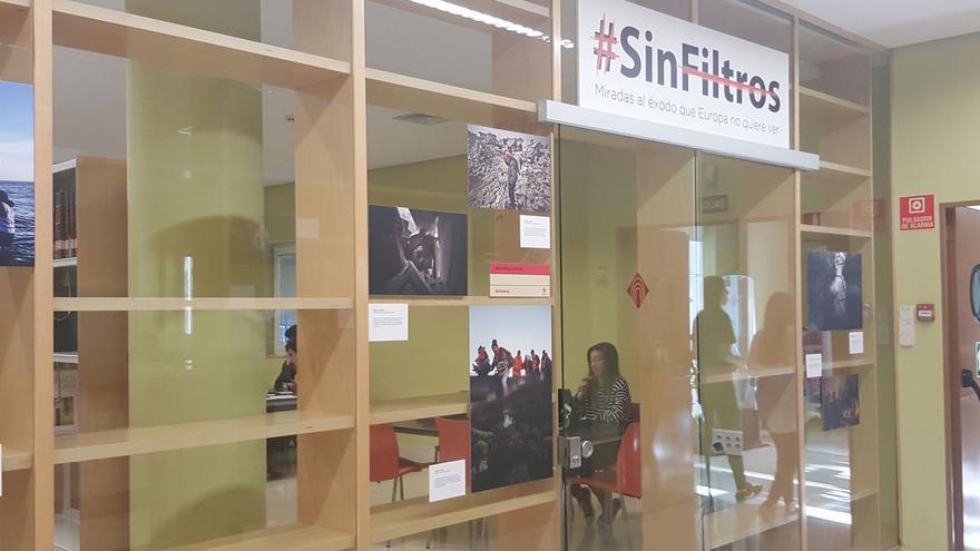 Exposición 'Sin Filtros' en la Biblioteca General de la UCLM
