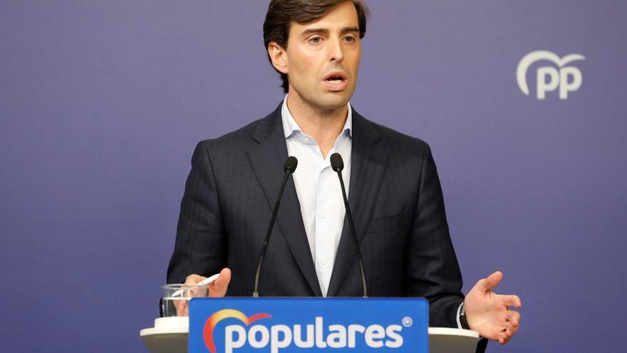 """Montesinos niega que exista """"fractura"""" entre el PP nacional y el andaluz"""