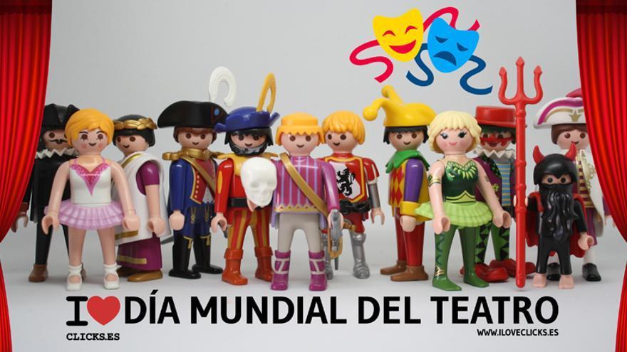 I love Día Mundial del Teatro