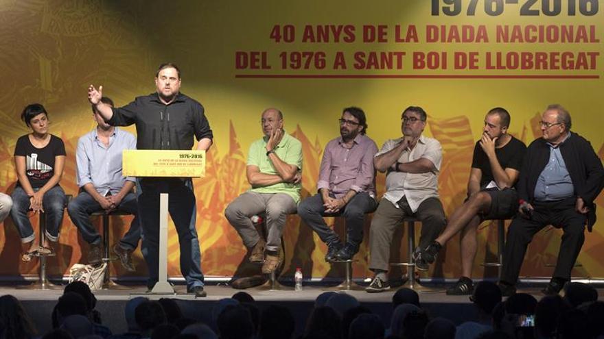 ERC, Podem y CUP exhiben voluntad de tender puentes a favor del referendo