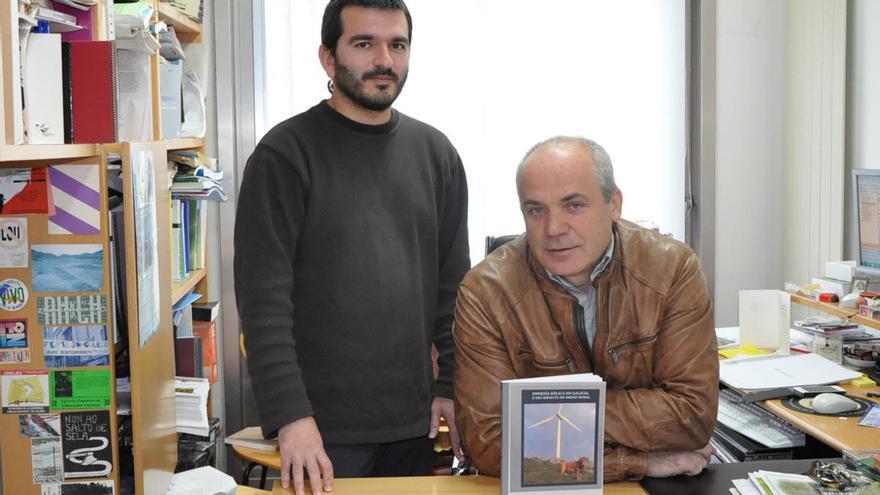 Damián Copena y Xavier Simón