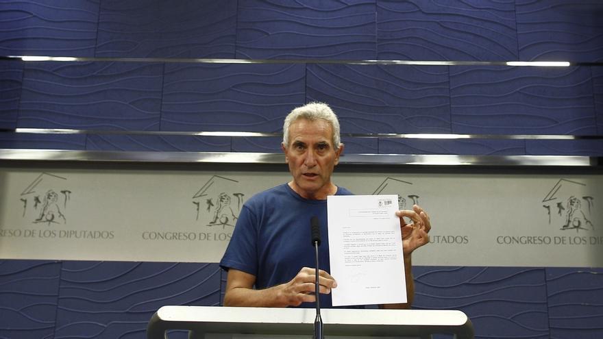 Cañamero denuncia en el Congreso la doble vara de medir de la Justicia entre Urdangarín y Bódalo