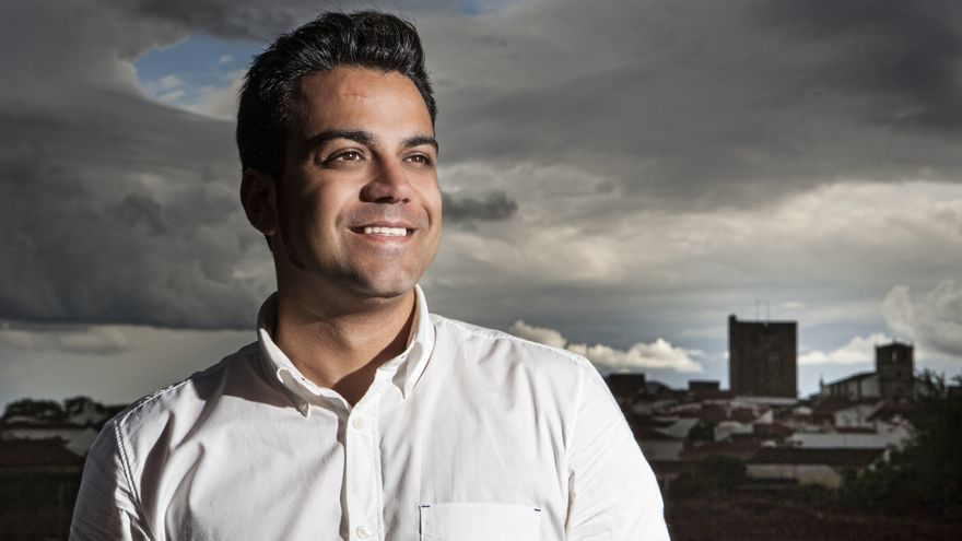 Manuel González Andrade, candidato a las primarias del PSOE en Olivenza