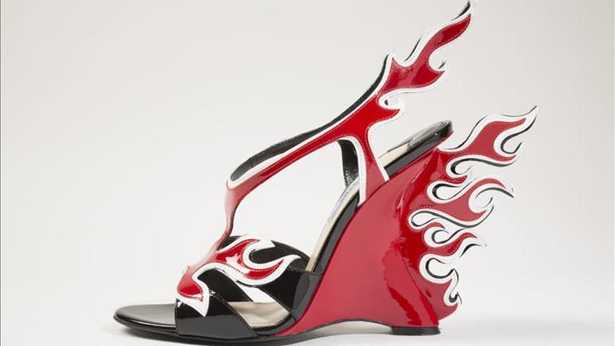 Una exposici n en nueva york evoca la magia de los zapatos for Diseno de zapatos