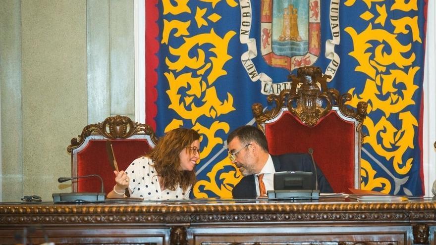Ana Belén Castejón asume la Alcaldía de Cartagena en funciones hasta el pleno de investidura