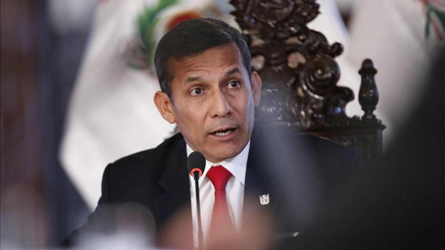 """Humala dice que Perú es """"respetuoso"""" ante litigio """"bilateral"""" Bolivia-Chile"""