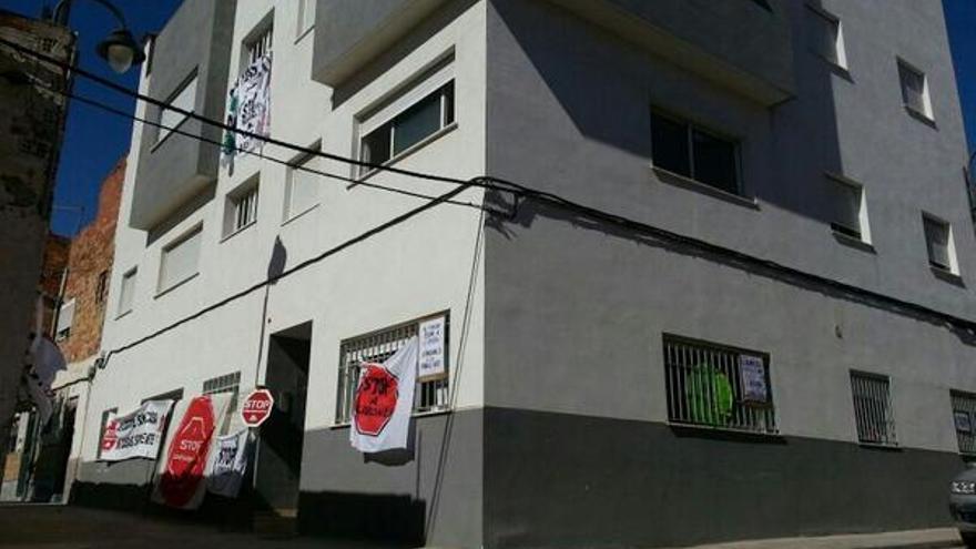 Edificio ocupado por la PAH en Aldaia (Valencia)