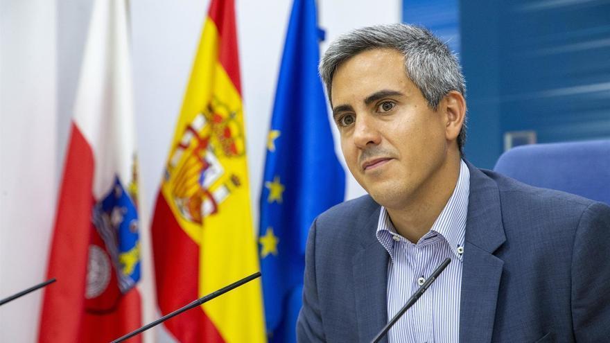 El vicepresidente y portavoz del Gobierno de Cantabria, Pablo Zuloaga (PSOE). | ARCHIVO