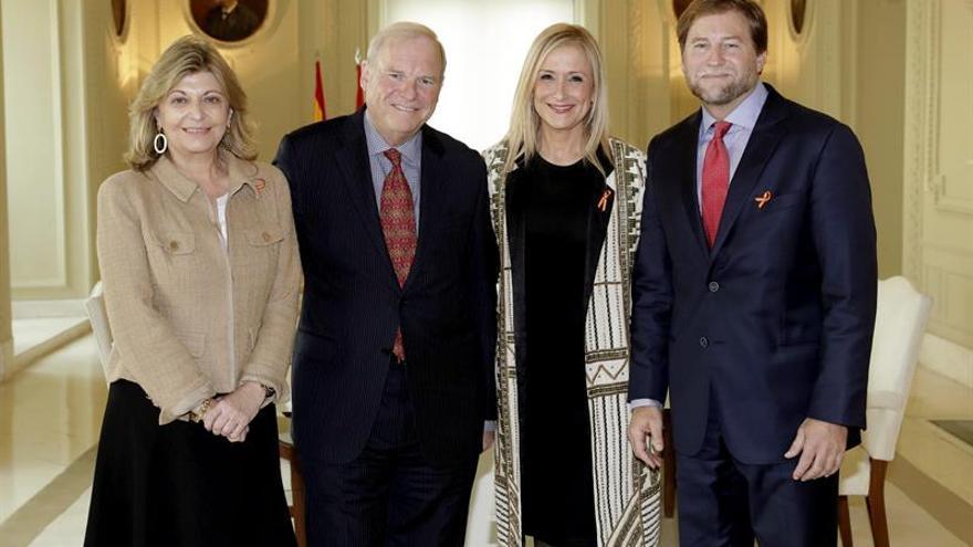 Cordish Companies presenta a Cifuentes su proyecto de ocio en Madrid