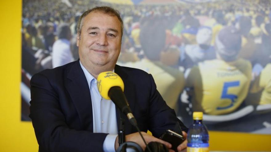 Miguel Ángel Ramírez en la emisora UD Radio