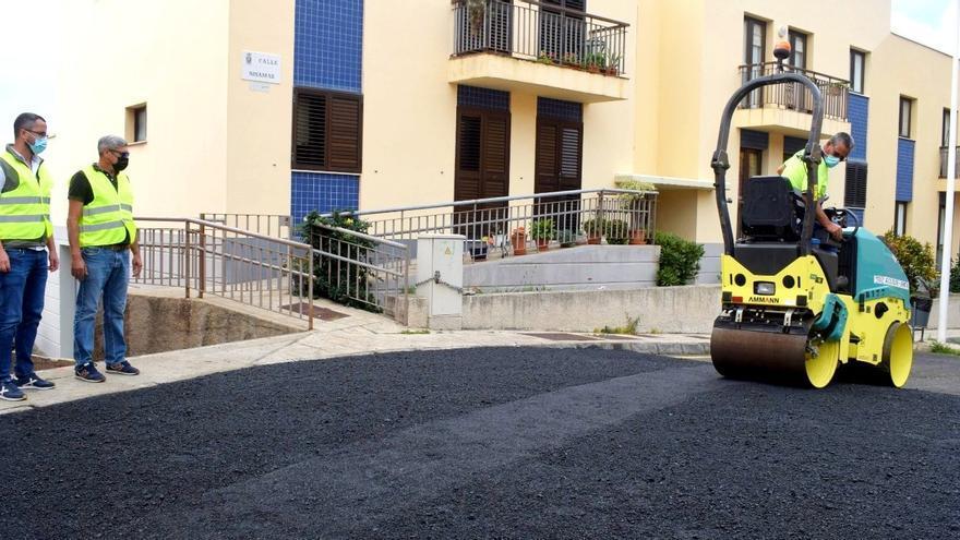 Colocan en Mirca dos pasos de peatones elevados para mejorar la seguridad