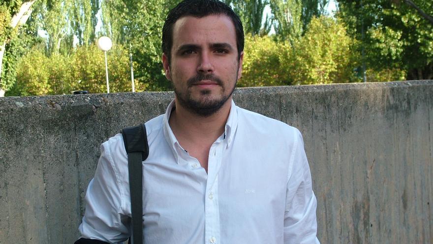 El diputado de Izquierda Unida, Alberto Garzón.