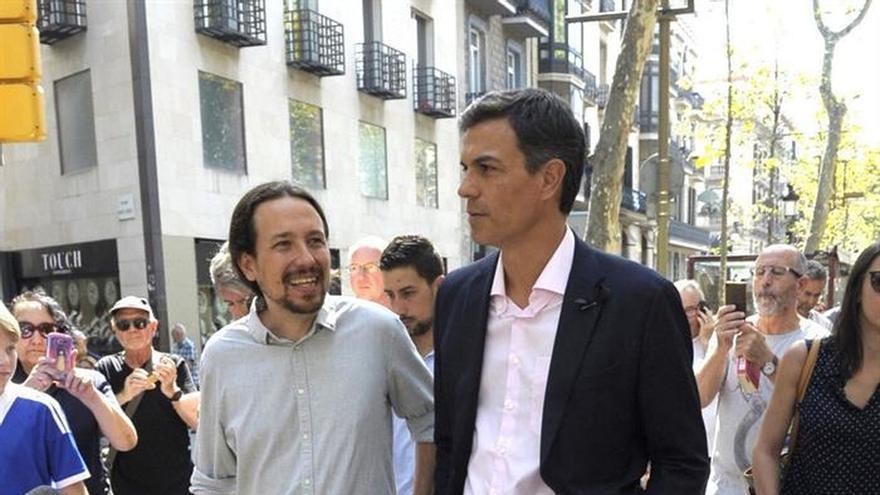 """Sánchez """"comparte el dolor"""" de Cataluña y llama a la unidad contra el terrorismo"""