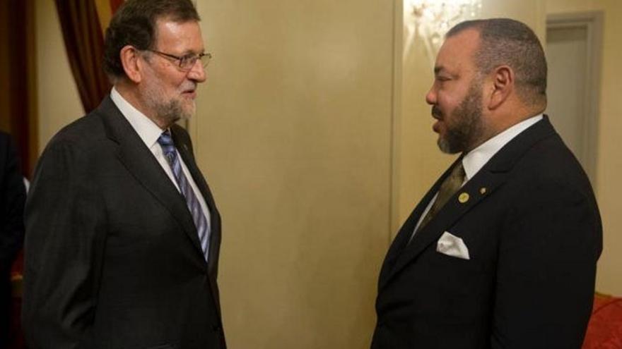 """Rajoy, tras su """"muy buena"""" reunión con Mohamed VI: """"Tenemos una colaboración ejemplar en temas capitales"""""""