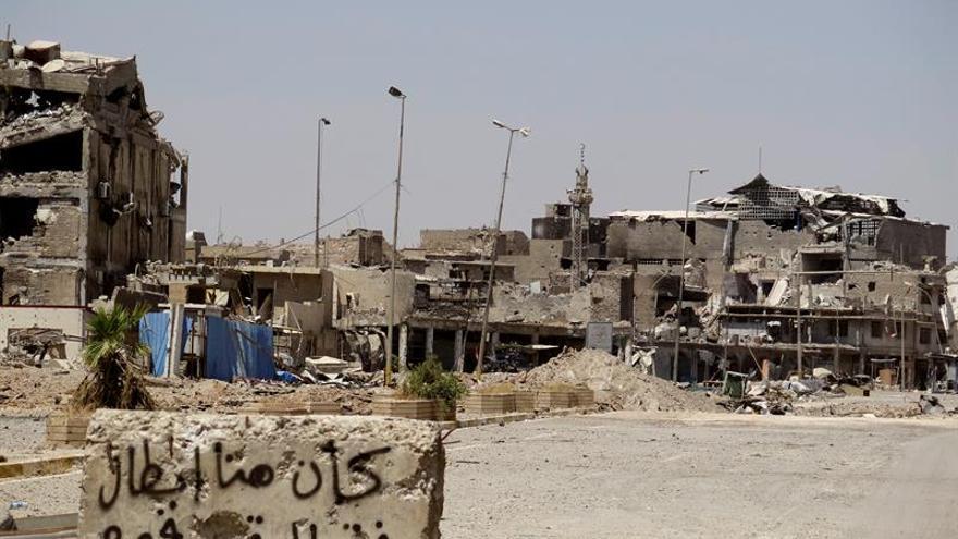 Mueren dos uniformados iraquíes y dos civiles en el casco antiguo de Mosul