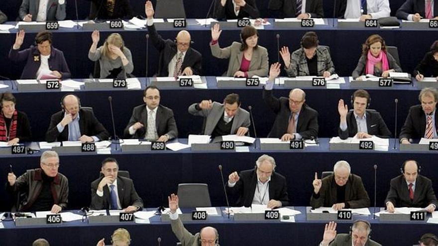 Parlamentarios europeos