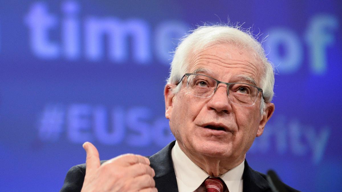 El alto representante para la Política Exterior de la Unión Europea (UE), Josep Borrell.