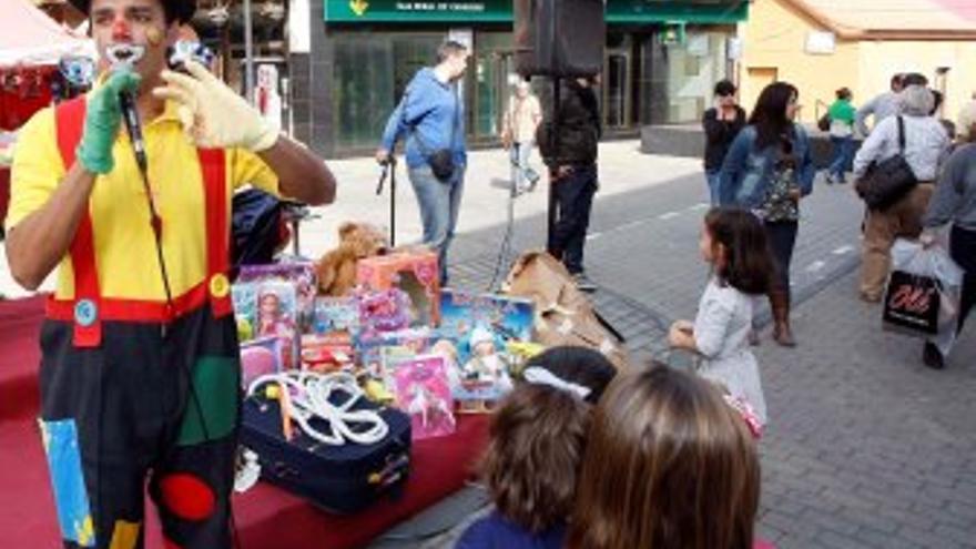Recogida de juguetes en Telde. (ACFI PRESS)