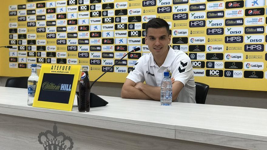 El centrocampista Íñigo Ruiz de Galarreta, de la UD Las Palmas.