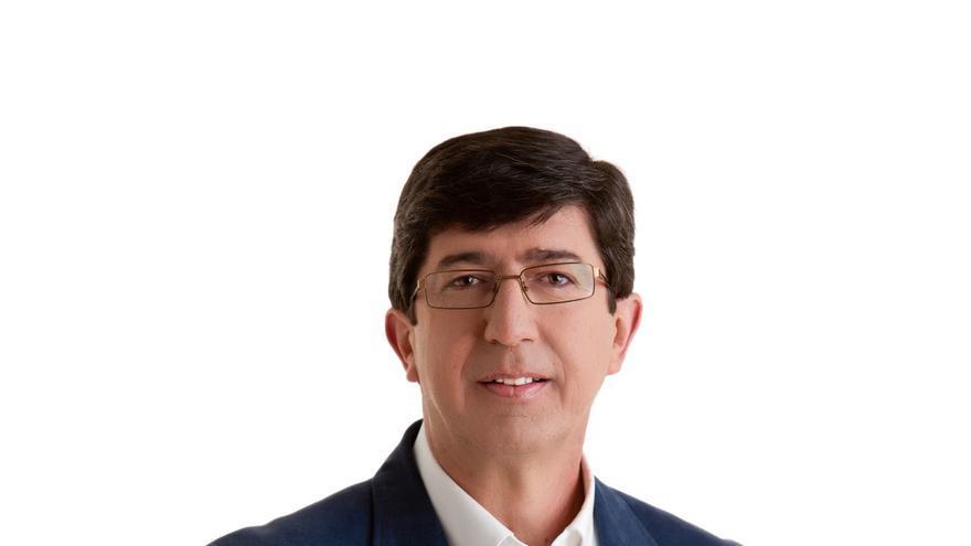 Juan Marín, proclamado candidato de Ciudadanos (C's) a la Presidencia de la Junta de Andalucía