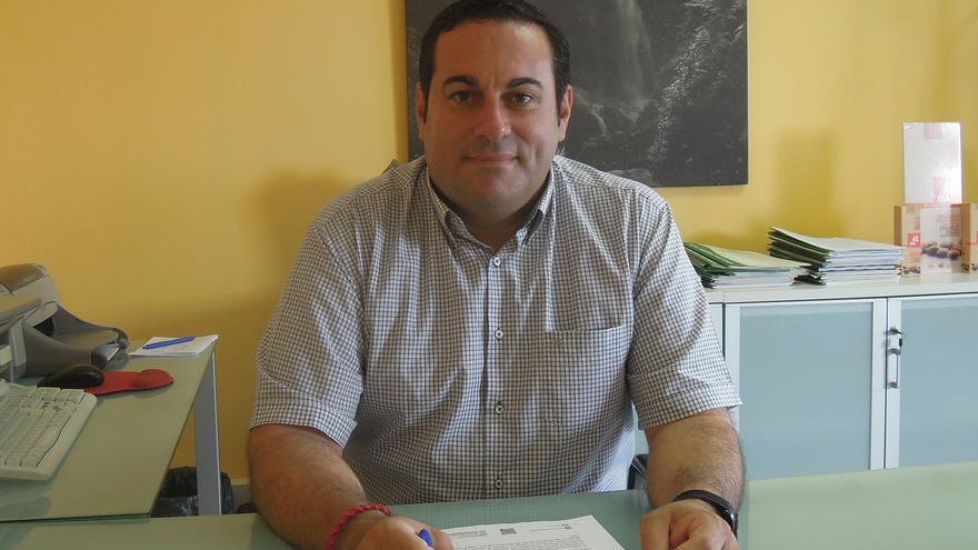 Basilio Pérez es consejero de Agricultura,Ganadería y Pesca del Cabildo.