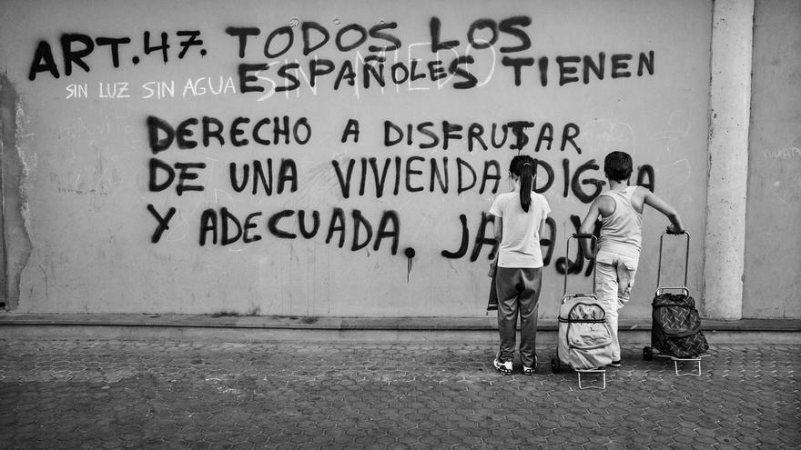 Fnac expone 'Pobreza infantil en España', del fotógrafo Aitor Lara