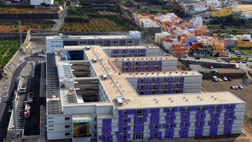 Imagen de archivo del complejo hospitalario de Icod, en Tenerife
