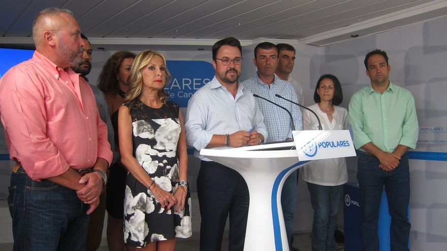 """Presidente del PP canario avisa de que apoyarán el presupuesto de 2018 si tiene """"la """"marca y el ADN"""" de su partido"""