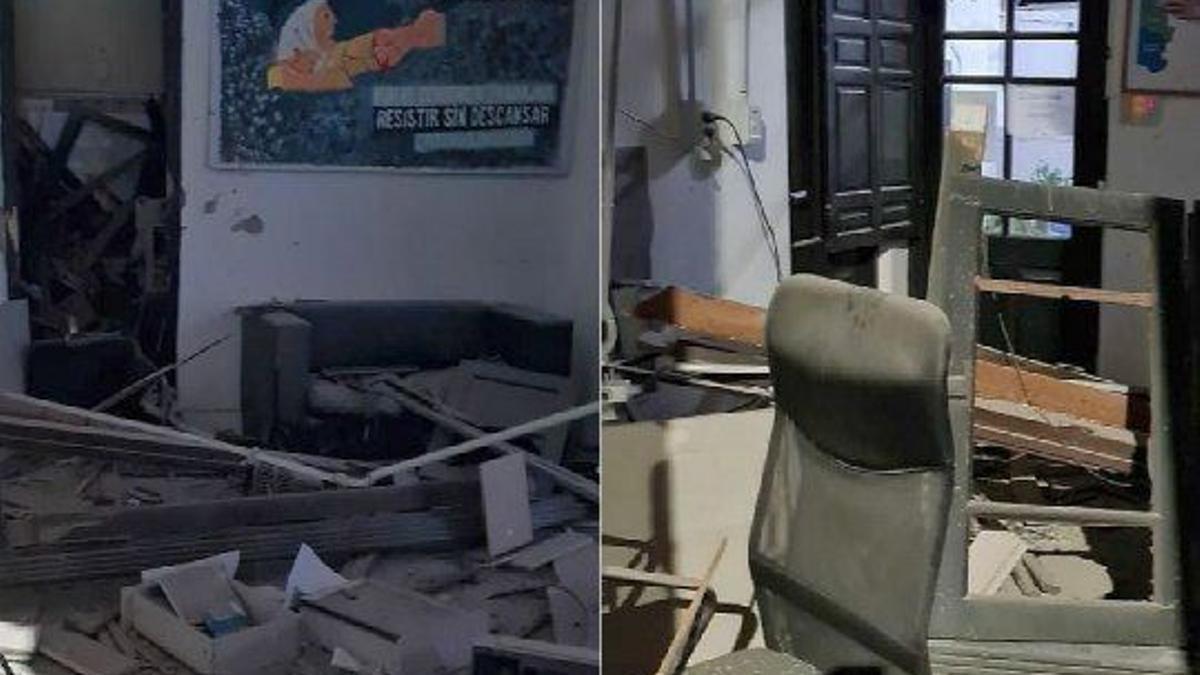 Sede del Frente de Todos en Bahía Blanca fue atacada con material explosivo